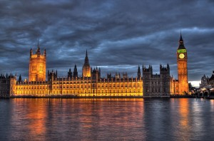 Houses of Parliament. Image courtesy of Maurice via Wikimedia Commons