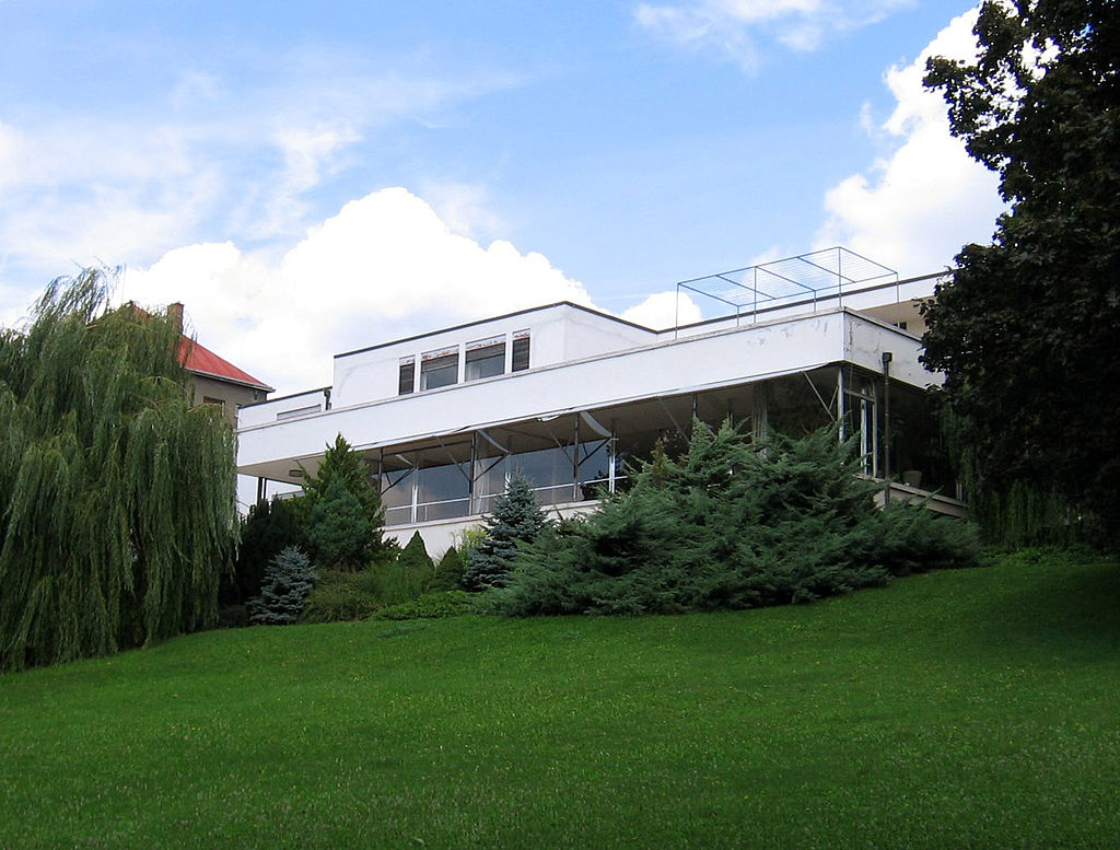 Villa Tugendhat - Brno - Simon Mawer's The Glass Room - Books set in the Czech Republic