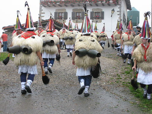 Basque Joaldunak in Spain