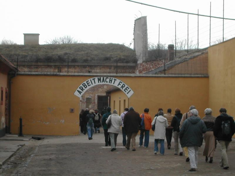 Terezin Memorial Entrance