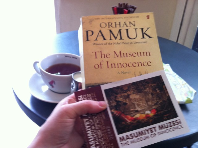 A cup of tea after visiting the Museum of Innocence - Istanbul, Turkey