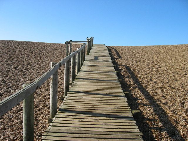 Chesil Beach Walkway - Books set in Dorset