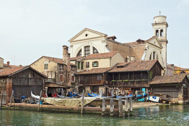 San Trovaso Squero, Venice