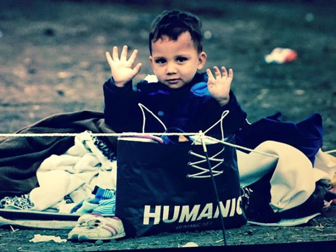 refugee child - Fedja